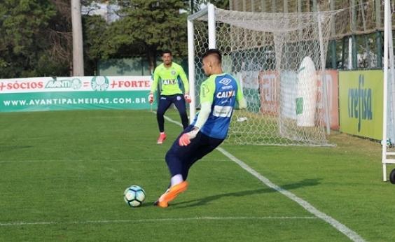 Bahia faz último treinamento antes de enfrentar o Santos em São Paulo