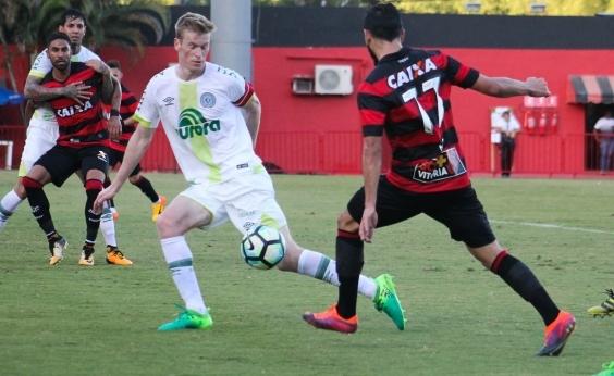 Mais um vexame! Vitória perde por 2 a 1 para a Chapecoense em pleno Barradão
