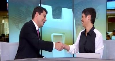 Evaristo apresenta pela última vez Jornal Hoje e emociona; veja vídeo