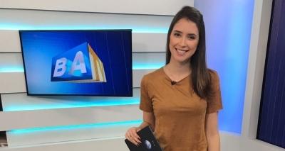 Mariana Aragão substitui Patrícia Abreu como apresentadora do Globo Esporte Bahia