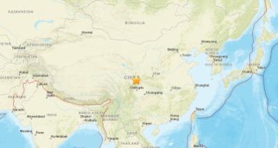 Terremoto de 6.5 de magnitude atinge a China e deixa pelo menos quatro mortos