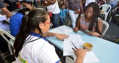 Serviços gratuitos são oferecidos nobairro de Santa Cruz pelo projeto Gabinete da Prefeitura em Ação