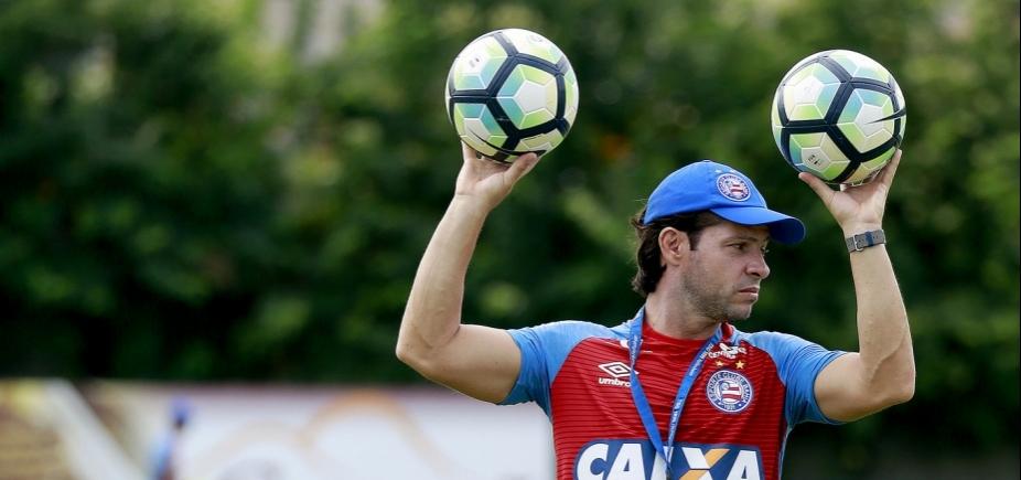 [Preto diz que espera time Atlético-PR diferente do que enfrentou o Bahia no 1º turno]