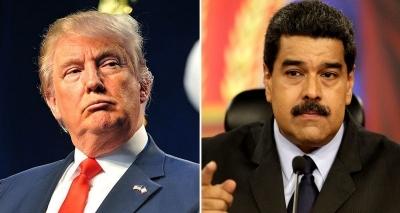 Trump diz que considera opção militar na Venezuela contra Maduro
