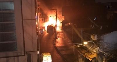 Ônibus é incendiado em Tancredo Neves; é o segundo caso em 24 horas