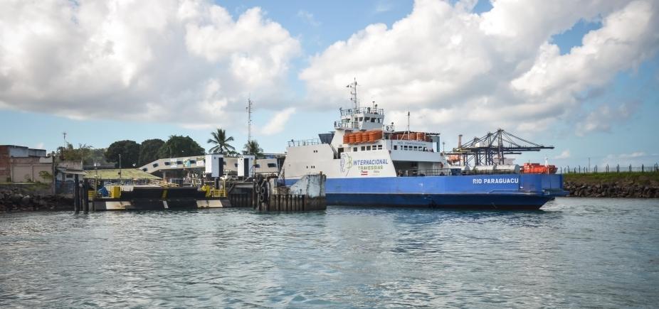 [Sistem Ferry Boat tem saídas a cada hora neste sábado]