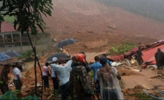 Deslizamento de terra deixa mais de 200 mortos em Serra Leoa