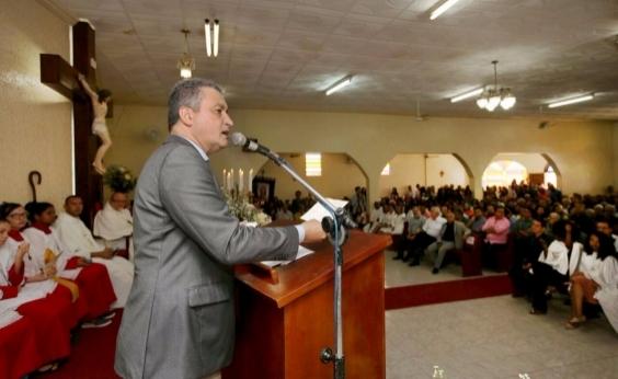 Rui inaugura ampliação de rede de água no município de Canarana