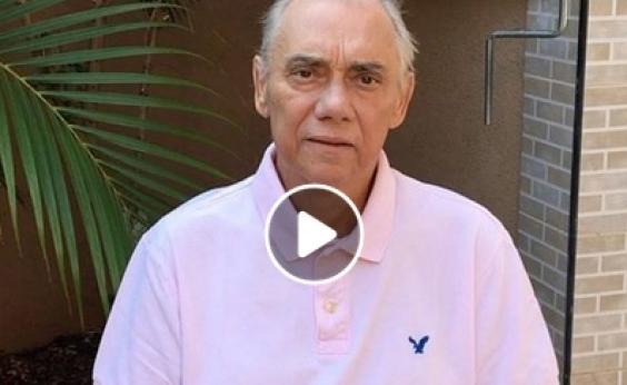 Marcelo Rezende publica vídeo e fãs se preocupam com magreza; veja