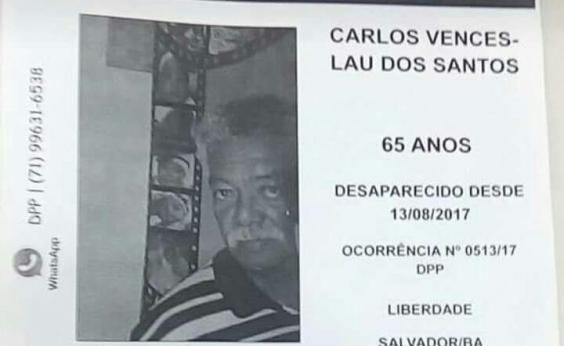 Desaparecido, idoso foi visto pela última vez em ônibus que seguia para Simões Filho