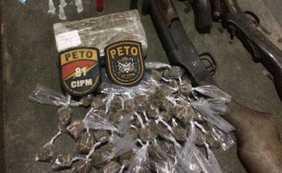 Polícia desarticula quadrilha acusada de tráfico de drogas em Simões Filho; três morrem