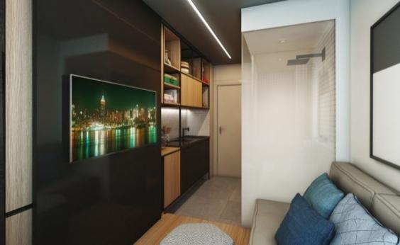 Construtora oferece apartamentos dobráveis de 10m²; veja imagens