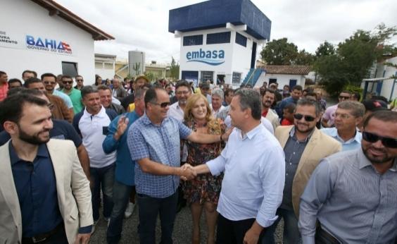 Rui inaugura sistema de abastecimento de água em Cândido Sales