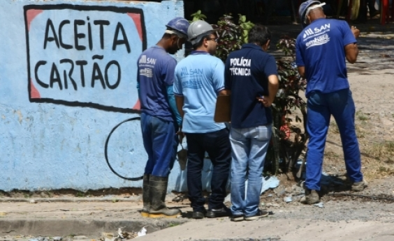Embasa desfaz gato de água em grande estabelecimento comercial de Itapuã