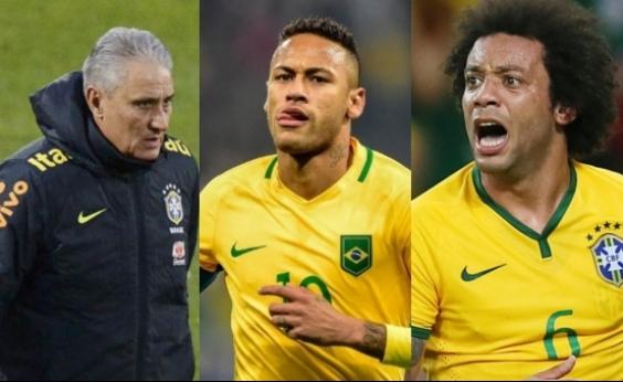 Lista de melhor do mundo da Fifa tem Tite, Neymar e Marcelo