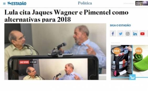 Entrevista de Lula à Rádio Metrópole tem repercussão nos principais veículos nacionais
