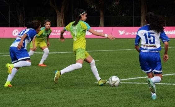 Futebol feminino do Brasil goleia a Colômbia por 17 a 0 na estreia da Universíade