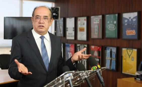 Procuradores pedem impedimento de Gilmar Mendes em ações contra Jacob Barata