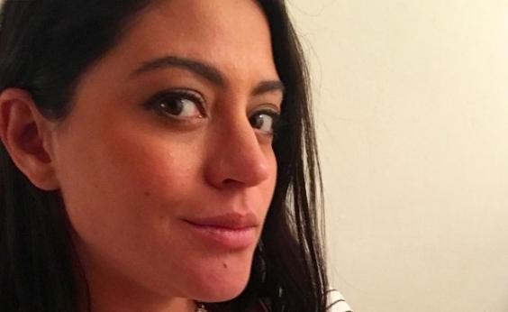 Uma semana após dar à luz, Carol Castro mostra primeira foto da filha