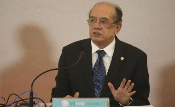 Alvo de protesto, Gilmar Mendes defende sistema semipresidencialista