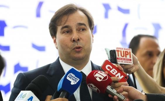 DEM vai ter candidato a presidente, diz Rodrigo Maia
