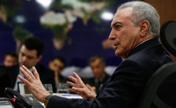 Seria extremamente útil para o Brasil, diz Temer sobre semipresidencialismo