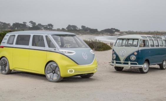 Volkswagen anuncia sucessora da Kombi com motor elétrico