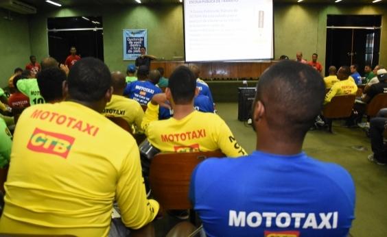 Detran abre 540 novas vagas para capacitação de mototaxistas