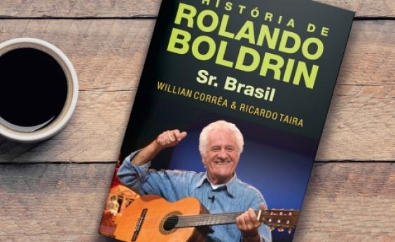 Senhor Brasil: escritor destaca biografia de Rolando Boldrin