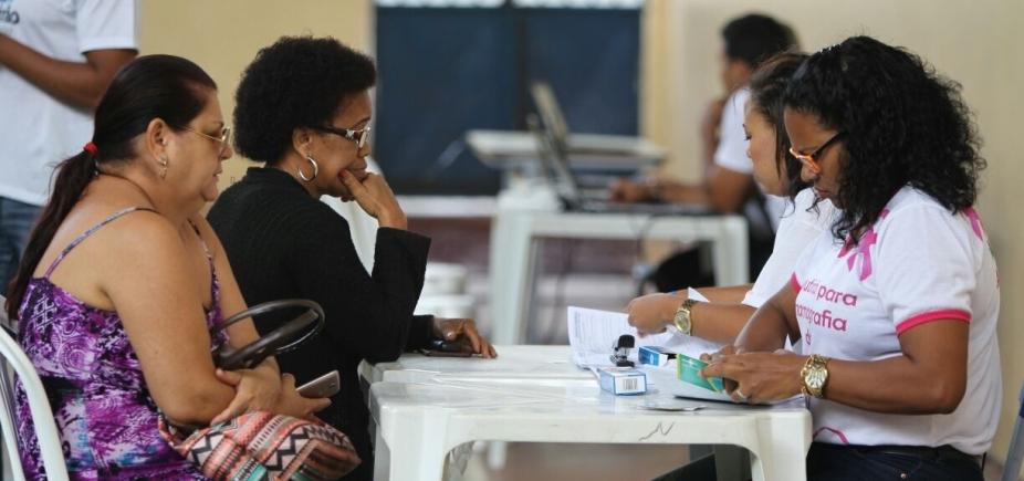 [Voluntárias Sociais promovem ação de saúde e cidadania em Itapuã]