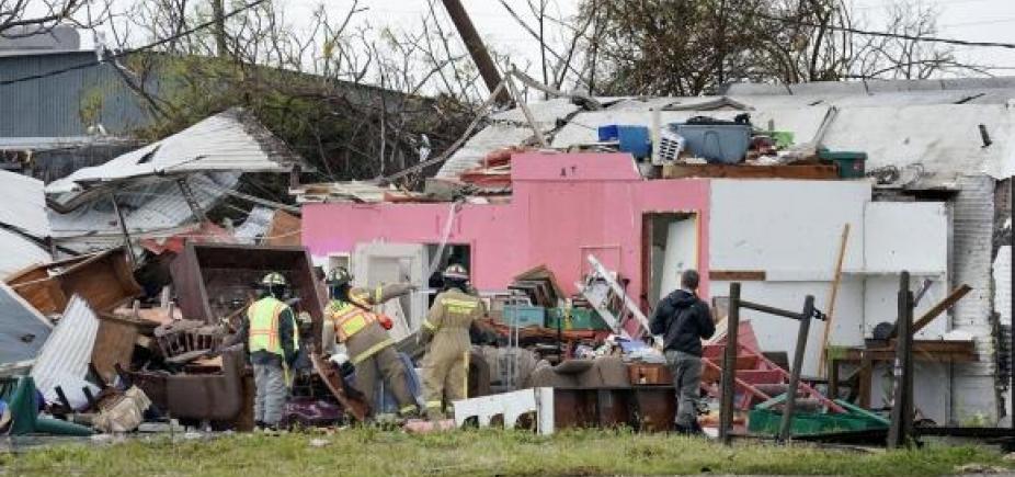 [Furacão Harvey deixa pelo menos dois mortos no Texas]