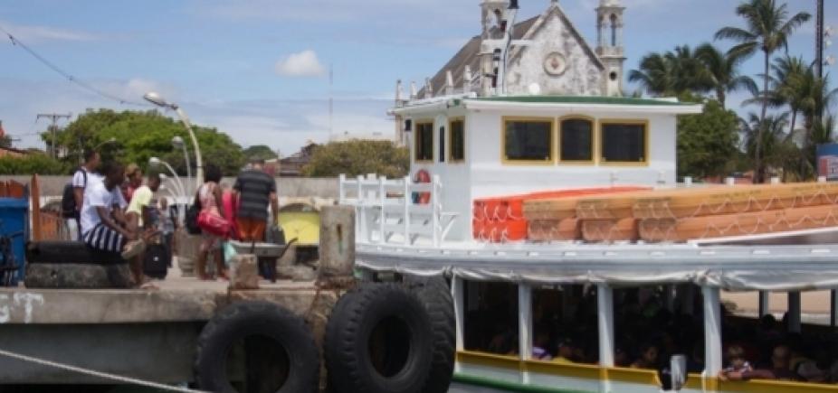 [Manifestantes impedem retomada da travessia Salvador-Mar Grande]