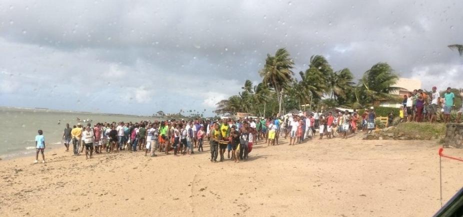 [Corpo encontrado em Vera Cruz é da 19ª vítima de tragédia em Mar Grande ]