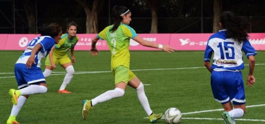[Seleção feminina de futebol brasileira conquista medalha de ouro naUniversíade]