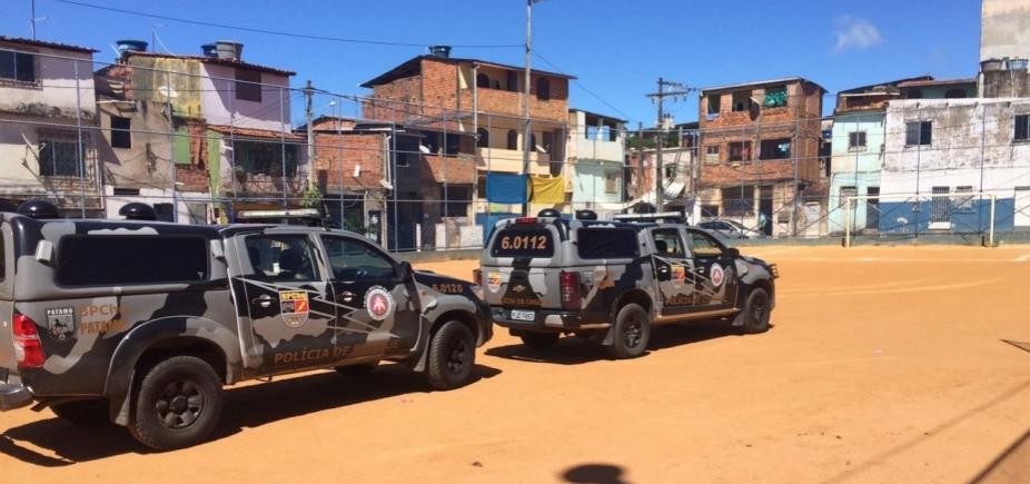 [Polícia reforça ações ostensivas no Iapi e Liberdade após ônibus incendiados]