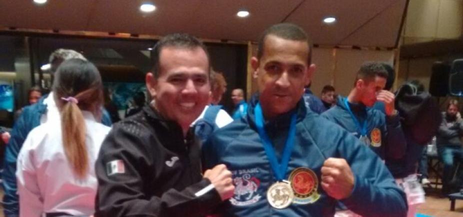 [Policial militar baiano ganha ouro e bronze no Campeonato Pan-americano de karatê na Argentina]