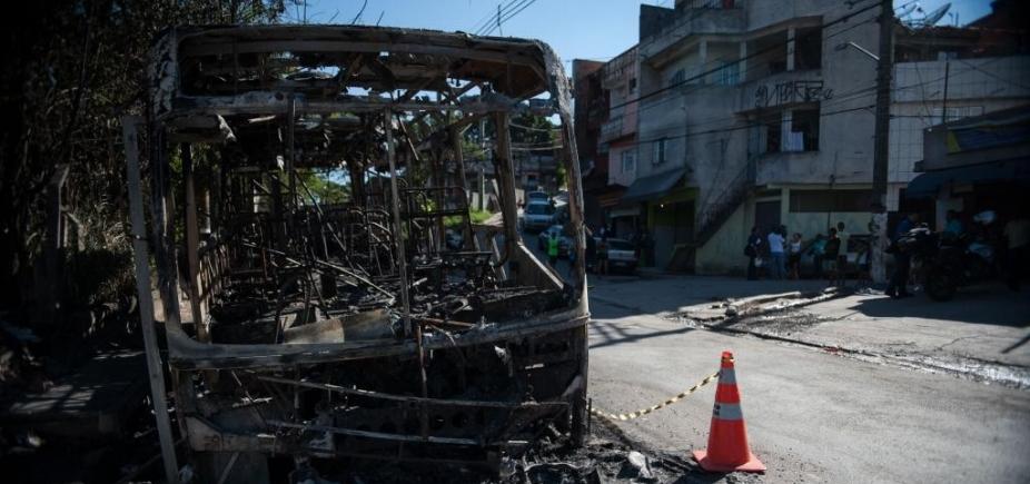 [Quadrilha é presa suspeita de queimar ônibus no IAPI e na Calçada]