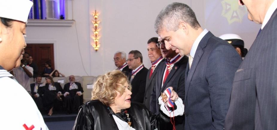 [Secretário da Segurança Pública da Bahia recebe Comenda do Mérito Judiciário]