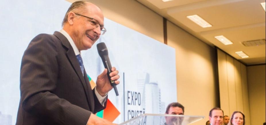 [Alckmin admite vontade de lançar candidatura: \