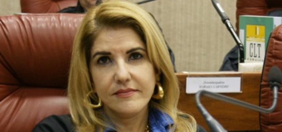 [Lourdes Linhares é eleita presidente do Tribunal Regional do Trabalho da Bahia ]