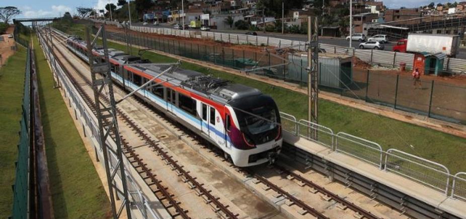 [Metrô faz viagens de reconhecimento até Mussurunga a partir de domingo]