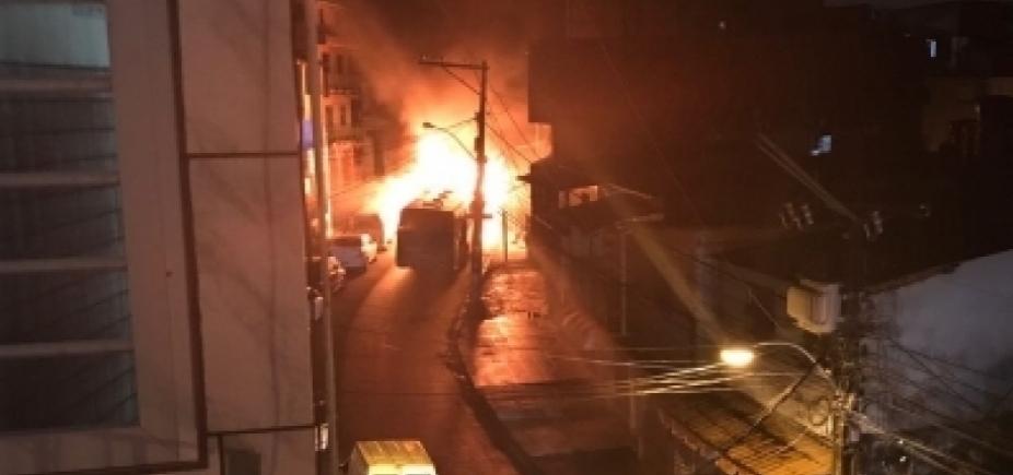 [Suspeito de incendiar ônibus em Tancredo Neves é detido]