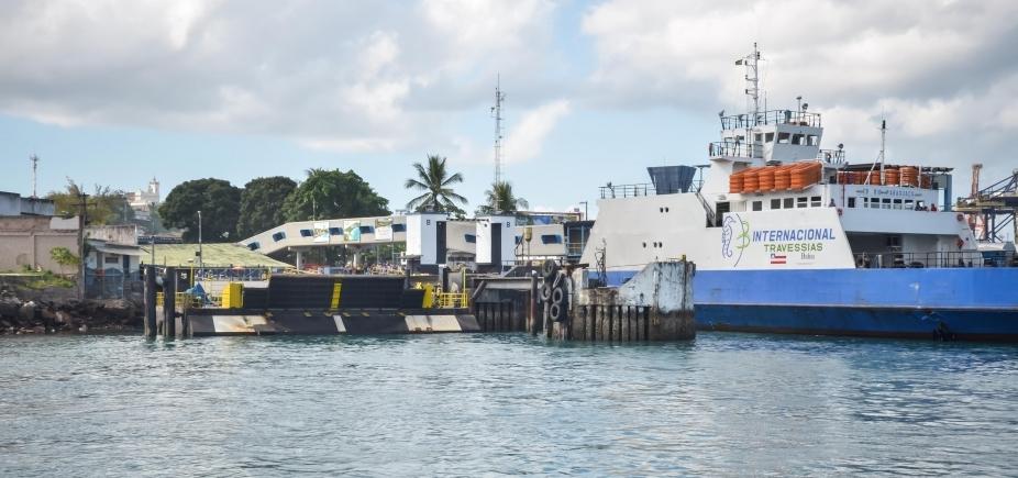 [Sistema Ferry Boat opera com quatro embarcações na manhã desde sábado; fluxo é considerado moderado]