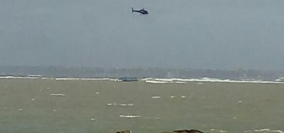 [Marinha confirma que não havia tripulantes em embarcação à deriva na Baía de Todos os Santos]
