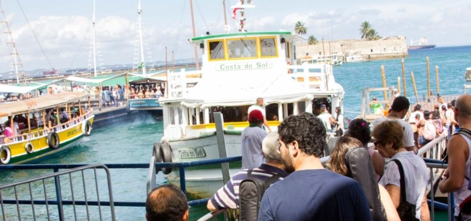 [Salvador-Mar Grande: travessia não opera nesta segunda-feira por mar agitado ]