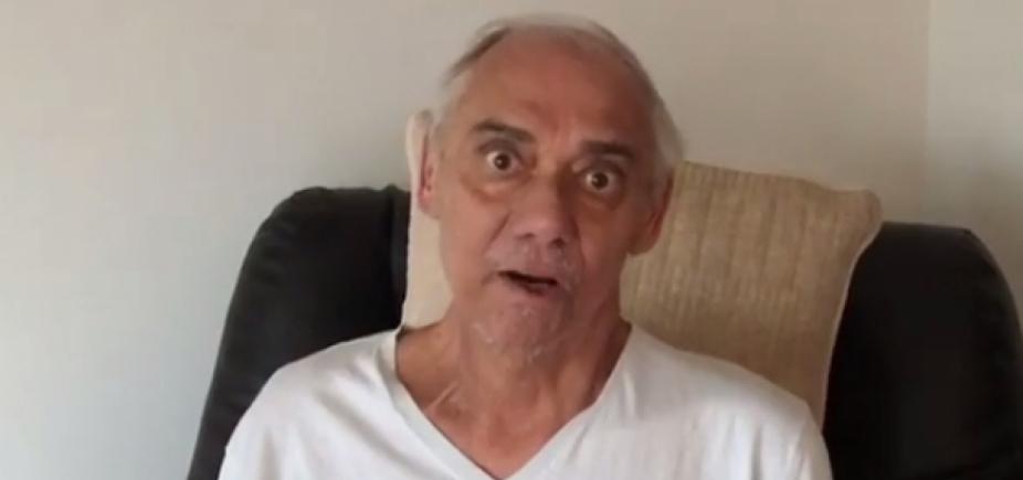 [Guerreiro! Marcelo Rezende faz vídeo para desmentir boatos: