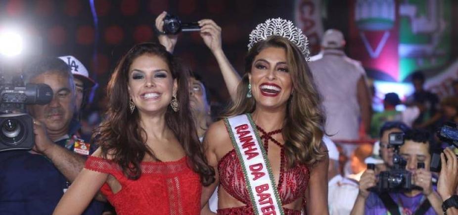 [Juliana Paes é ovacionada em coroação na Grande Rio e ganha elogio de Ivete Sangalo; vídeo]