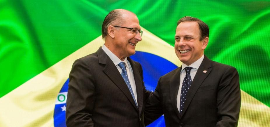 [Alckmin alfineta Doria e diz que \