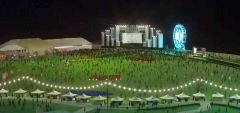 [Festival Virada Salvador: vídeo mostra como será réveillon na orla da Boca do Rio ]