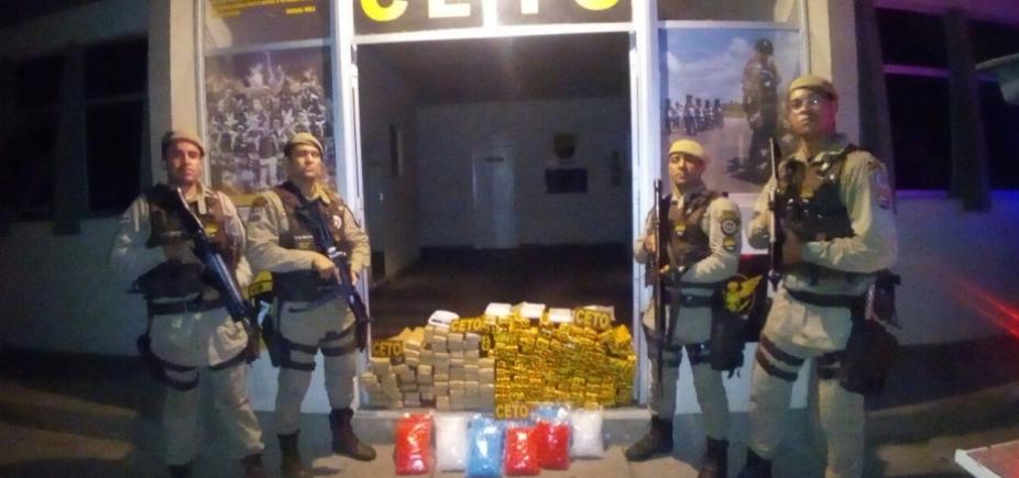 [Mais de 130 kg de drogas são apreendidos durante operação em Itabuna]